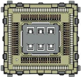 HL SNAP-IN BASE, Основание гнезда с защелкой, для микроконтроллеров серии Sierra AirPrime HL
