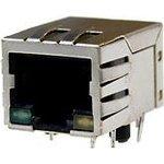 LU1T516-43LF (KLU1T516-43LF), Разъем RJ-45 + трансформатор + светодиоды - в одном корпусе