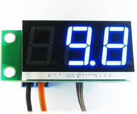 Фото 1/3 STH0014UB, Встраиваемый цифровой термометр с выносным датчиком ( голубой индикатор)