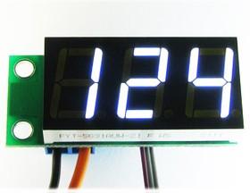Фото 1/3 STH0014UW, Встраиваемый цифровой термометр с выносным датчиком ( белый индикатор)