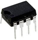 КР538УН3А (LM387N), Сверхмалошумящий, широкополосной усилитель, 3МГц, 6В, 5мА