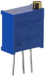 3296W-1-105LF, 1 МОм подстроечный резистор (СП5-2ВБ)
