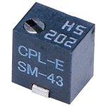 SM-43TW103, Подстроечный потенциометр, регулировка сверху, Multi Turn ...
