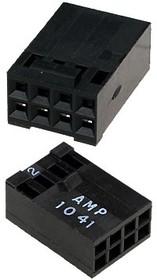 87631-4, розетка на кабель 2.54мм 2х4 AMPMODU MODIV