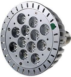 FEX164 E27 12x1W 220В лампа светодиодная, цвет теплый белый