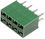 215307-4,AMPMODU розетка на плату 2x4 2.54 мм HV-100