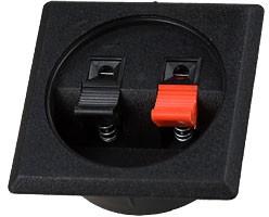 1-710, Прищепка аудио двойная квадратная на корпус