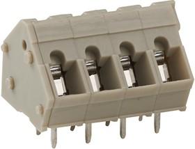 2834078-1, Клеммная колодка типа провод к плате, без винтов, 5 мм, 2 вывод(-ов), 28 AWG, 14 AWG, Зажим