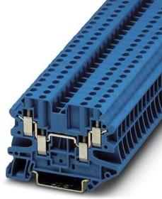 3044584, Conn Feed-Through Terminal Block F 4 POS Screw T DIN Rail 32A