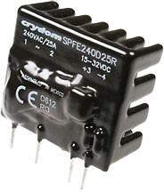 SPFE240D25R, реле 240VAC/10A, 24VDC