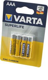 VARTA SUPERLIFE Micro 2003 R03 BL4 (трансп.уп. 240шт), Элемент питания