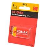 Kodak Super Heavy Duty ZINC 6F22 BL1, Батарея
