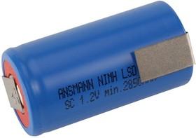 ANSMANN 5035391 LSD 3000мАч SC с лепестковыми выводами PK1, Аккумулятор