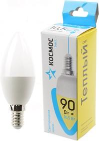 КОСМОС BASIC LED10.5wCNE1430 10.5Вт E14 3000K BL1, Лампа светодиодная