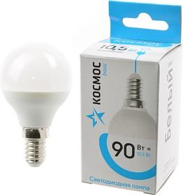 КОСМОС BASIC LED10.5wGL45E1445 10.5Вт E14 4500K BL1, Лампа светодиодная
