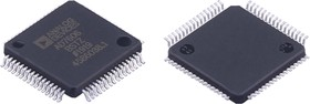 Фото 1/3 AD7606BSTZ, Восьмиканальный 16-бит АЦП с одновременной выборкой, биполярный вход [LQFP-64]