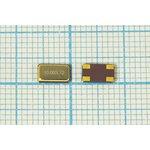 Кварц 10МГц SMD 6x3.5мм с 4-мя контактами, расширенный интервал -40~+85C ...