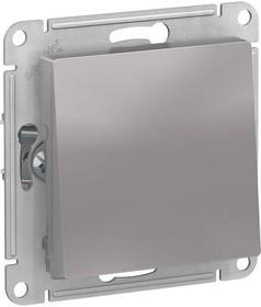 Фото 1/3 Механизм переключателя 1-кл. СП AtlasDesign 10А IP20 (сх. 6) 10AX алюм. SchE ATN000361