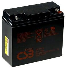 GP12170, Аккумулятор свинцовый 12В-17Ач 181х76х167