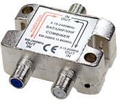 UV10 Диплексер, TV/SAT 5- 862 МГц/950-2300 МГц