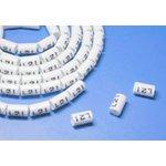 OM-3.5-3, Маркеры на кабель, круглые, цифра 3, внутренний диаметр 4.2мм (100 шт)