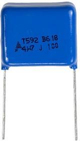 B32592C1475J008, конд100Vdc 5% 4.7uF