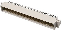 DIN41612 9-1393644-4,вилк 32x3 64конт угл 3,0мм