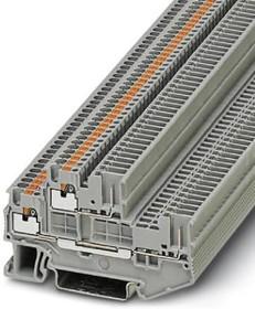 Фото 1/2 3212439, Conn Double-Level Terminal Block 4 POS G DIN Rail/T DIN Rail 16A