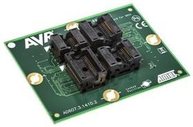 Фото 1/3 ATSTK600-SC11, Generic Socket Card For Soic14/20/24/32 Wide