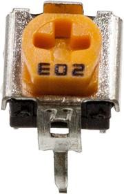 WH06-2C 20KOHM, резистор подстроечный 20 кОм (SH-655MCL) углеродистый