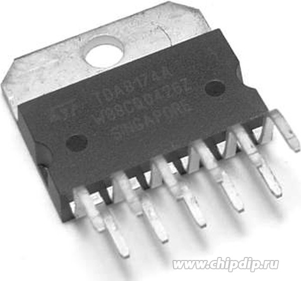 ИМС Усилитель низкой частоты No trademark TDA7350.