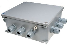 AJB-8, соед.коробка на 8 датчиков, алюм.