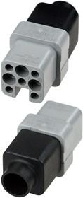 2-1103101-3, Розетка 8 контактов HN.D 250В/10А