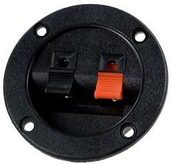 CH1-0408A, клеммник нажимной 2конт. круг. 65мм