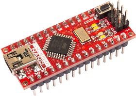 Фото 1/2 Бузина v2, Arduino Nano, программируемый контроллер на базе ATmega328P-AU, CP2102