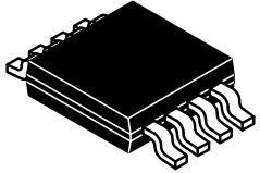 CAT24C01ZI-GT3, EEPROM Serial-2Wire 1K-bit 128 x 8 1.8V/2.5V/3.3V/5V 8-Pin MSOP T/R