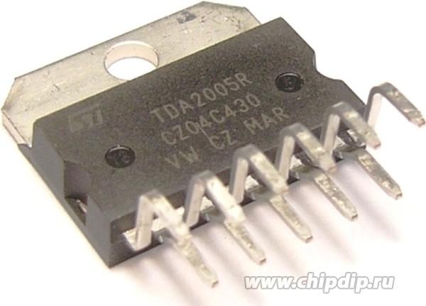 ИМС Усилитель низкой частоты ST Microelectronics TDA2005 (R) (К174УН27) .