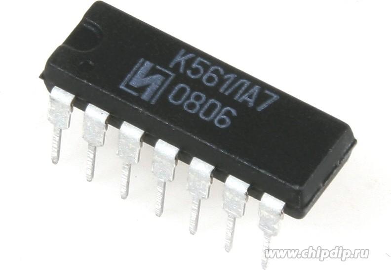 К561ЛА7 (00-13г), Микросхема