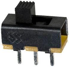 SS12F20G3-G, переключатель сдвиговый 50В 0.3А h=3мм (аналог SS-6)