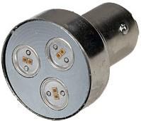 ARL-T25 1157 3-Power RED, Автолампа красная LED (12V, BAY15d)