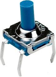 IT-7701HB-160G-G, кнопка тактовая 7х7 h=8.5мм герметичная