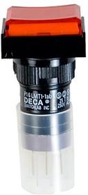 P16LMT1-1abJR, Кнопка без фикс. 240В/4А, LED подсветка