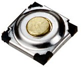 IT-1187U-160G-G, кнопка тактовая 5.2х5.2 SMD h=1.5мм