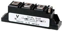 VS-VSKT105/12,GENVII 2тирист 1200В 105А ADD-A-Pak