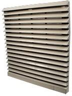 JLVFP-804, решетка вент.с фильтром 204х204мм