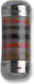MMA0204MC1504FB300, MELF резистор поверхностного монтажа, 1.5 МОм, Серия VISHAY - MMA 0204 HV, 500 В, Тонкая Пленка
