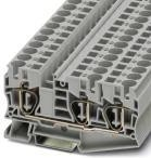 Фото 1/2 3035288, Conn Feed-Through Modular Terminal Block F 3 POS ST Cable Mount 57A