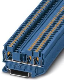 3209552, Conn Feed-Through Modular Terminal Block F 3 POS T DIN Rail 24A