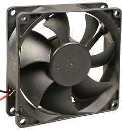 YM1208PTB1, вентилятор 12В,80х80х25мм (аналог JF0825B1H)