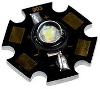 """ARPL-Star-0.5W, св.диод, бел., 14-30 lm 0.5W 120"""""""